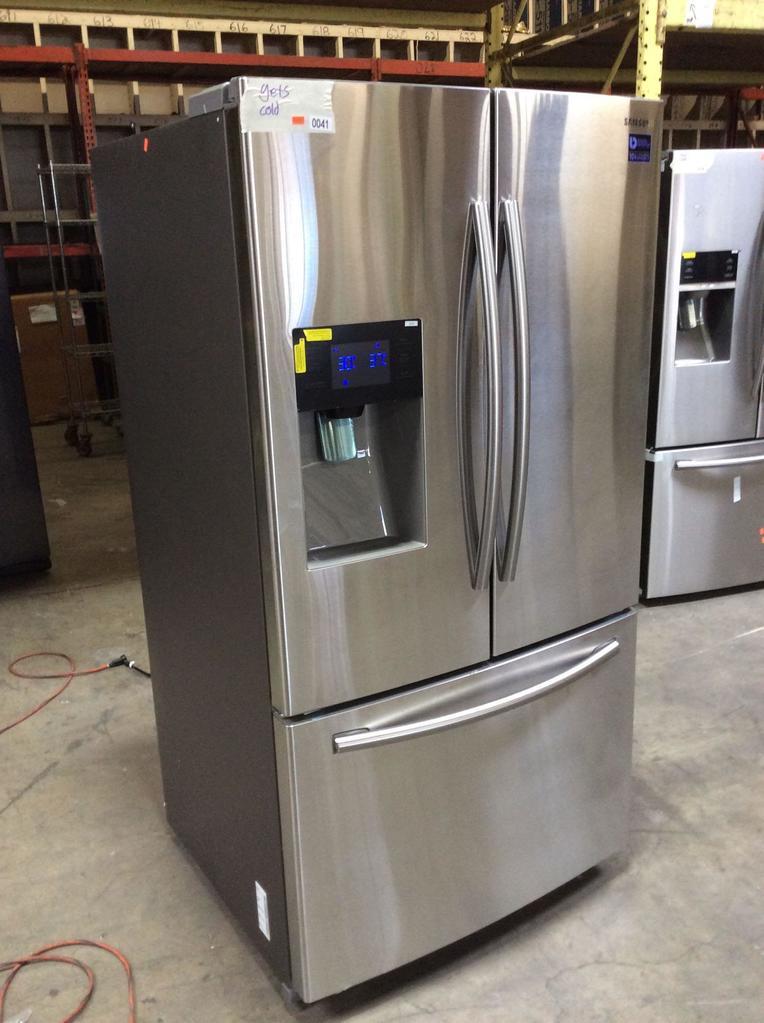 Samsung Stainless Steel 25 cu. ft. French Door Refrigerator
