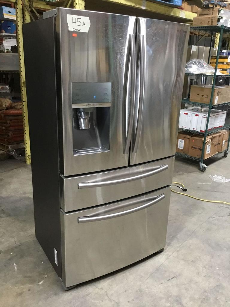 Samsung 22.6 cu. ft. (4) French Door Stainless Steel Refrigerator