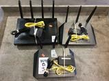 (3) Netgear Routers