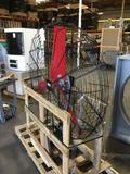 Large Round 50in. Industrial Fan