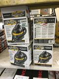 (4) Stinger Wet/Dry Vacuums