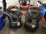 (2) Ridgid Wet/Dry Vacuums