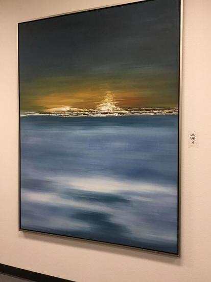 Large Artisan Oil Painting