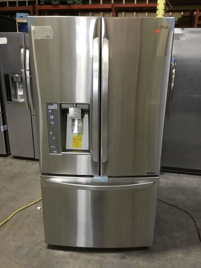 LG Counter-Depth French Door Refrigerator (Stainless Steel) ***NEW NEVER USED***