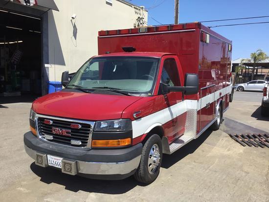 2014 GMC Savana with Northstar Ambulance Package