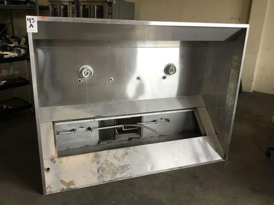 Large Restaurant-Grade Captive Air Oven Range Hood