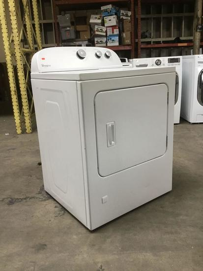 Whirlpool Front Load Gas/Electric Dryer***TURNS ON NOT FULLY TESTED***