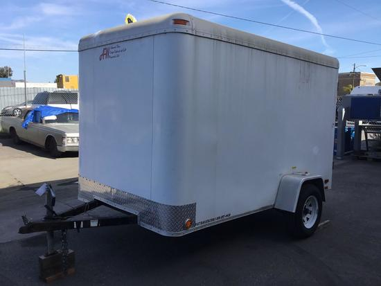2003 Explorer 10ft Enclosed Trailer with 2000lbs GVW