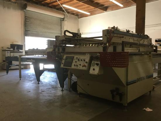 Daytona III Semi-Automatic Screen Printer