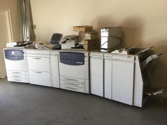 Xerox 700i Digital Color Press Copier/Printer