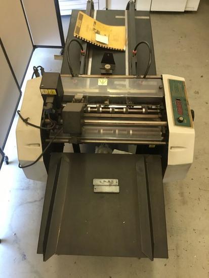 Graphic Whizard GW 6000 Number/Perf/Score/Slit Machine