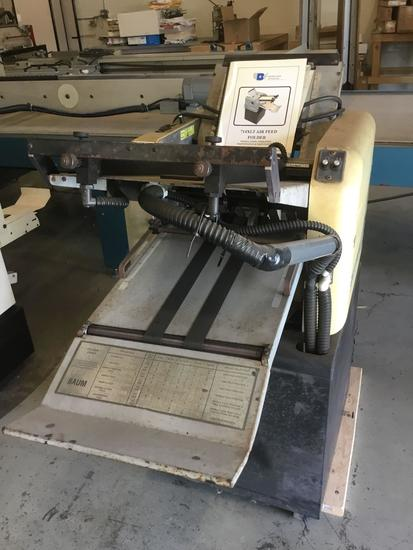 Baum 714XLT Ultrafold Air Feed Tabletop Paper Folder