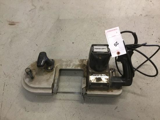 Porter Cable 2 Speed Porta Band Saw