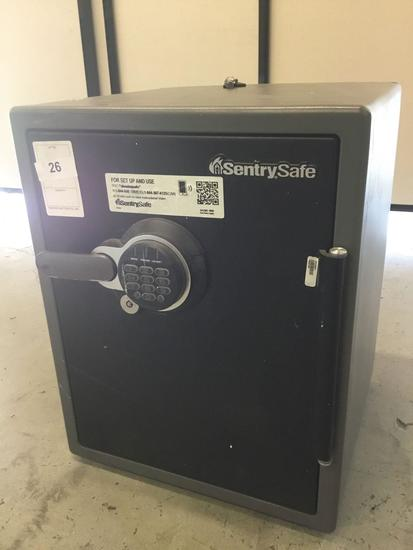 Sentry Safe Fire-Safe Digital Floor Safe***LOCKED NO COMBO NO KEYS***