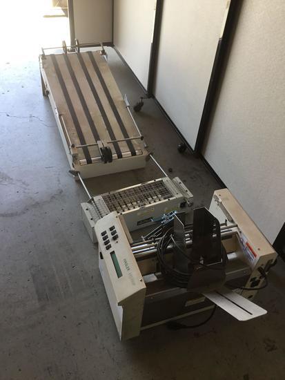 Hasler HJ 350P Address Printer With Optional 3ft Conveyor