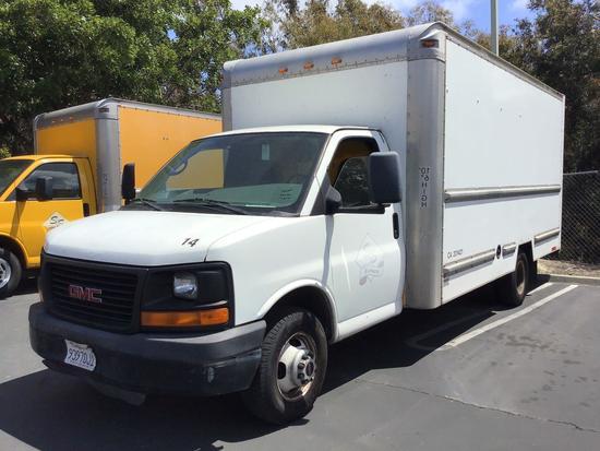 2009 GMC Savana 3500 17ft. Box Truck***FOR DEALER OR EXPORT ONLY***