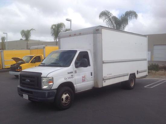 2010 Ford E-350 17ft Box Truck***FOR DEALER OR EXPORT ONLY***