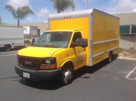2012 GMC Savana 3500 17ft. Box Truck***FOR DEALER OR EXPORT ONLY***