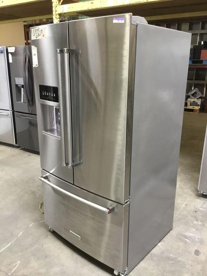 Kitchen Aid 26.8 cu. ft. Stainless Steel French Door Refrigerator ***GETS COLD***