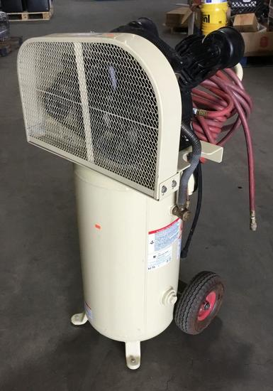 Ingersoll Rand 20 Gallon 135 PSI Air Rolling Compressor ***WORKS***