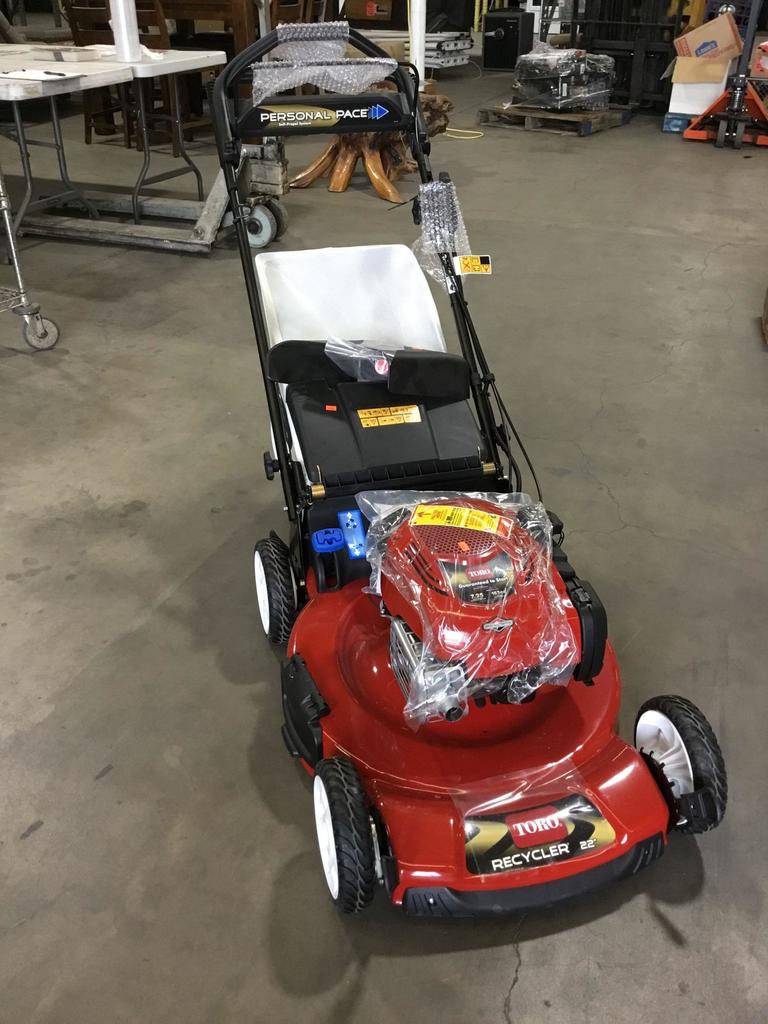 Briggs & Stratton Toro Recycler Self-Propelled 22in. 163cc Gas Powered Lawnmower