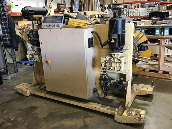 CALINI Automatic Wheel Coiler***WORKING WHEN REMOVED***