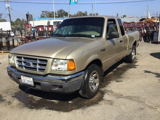 2001 Ford Ranger XLT ***FOR DEALER OR EXPORT ONLY***