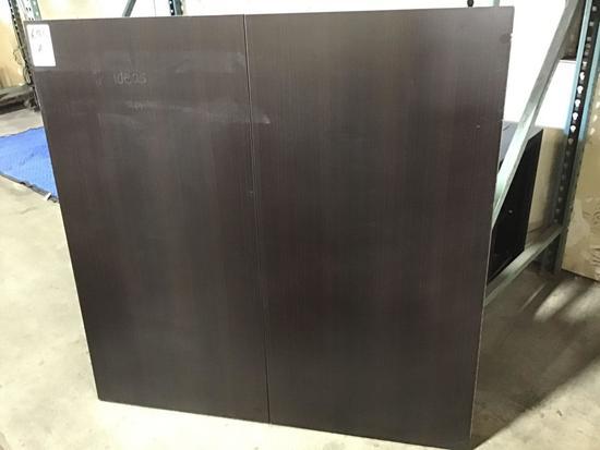 Wooden Case Enclosed Dry Erase Board