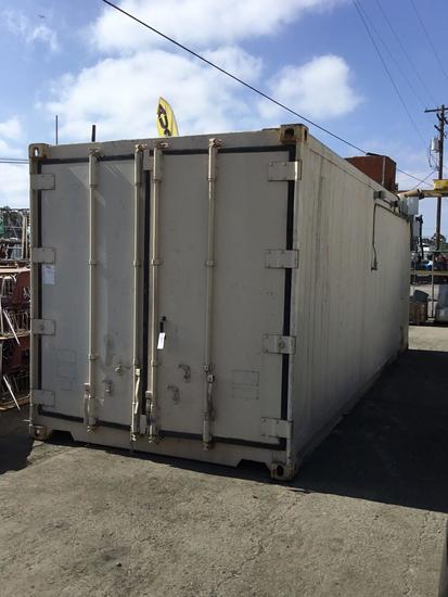 24ft Custom Refrigerated 28 Tap Keg Dispensing Conex Box