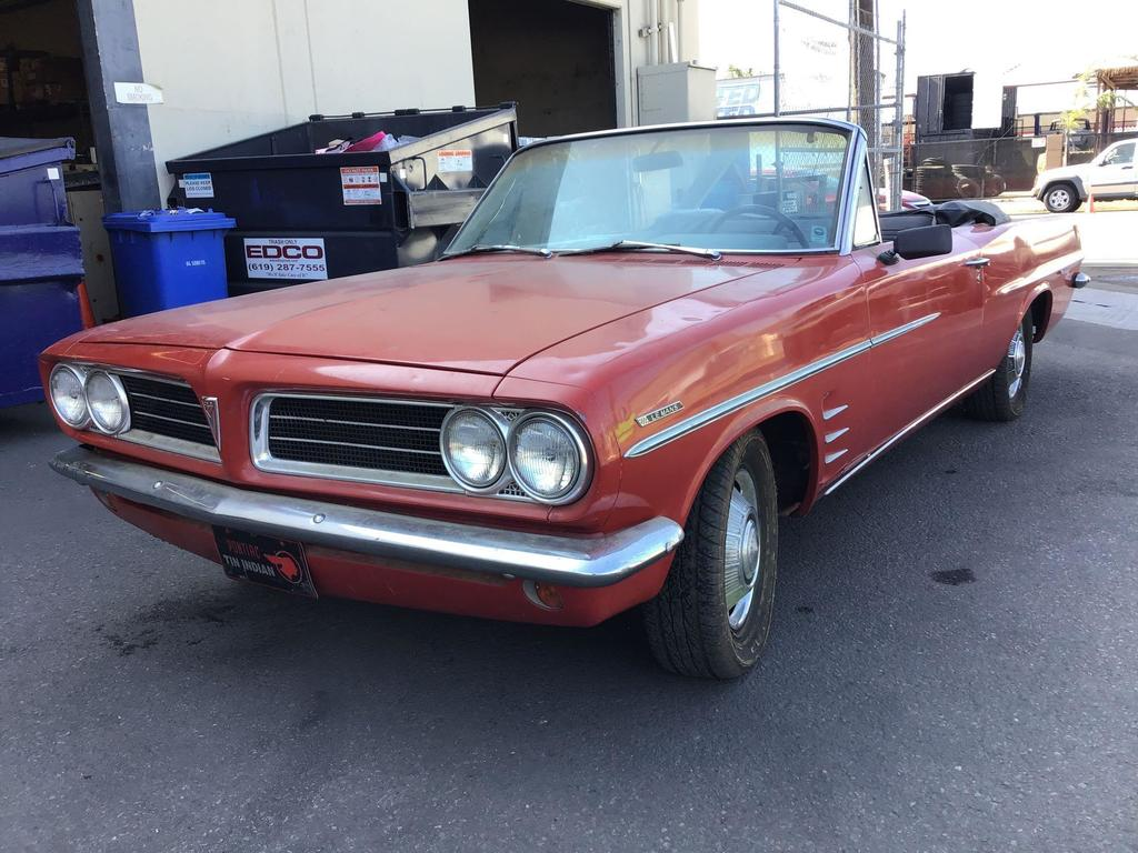 1963 Pontiac Tempest Le Mans Convertible***NOT CURRENTLY RUNNING***
