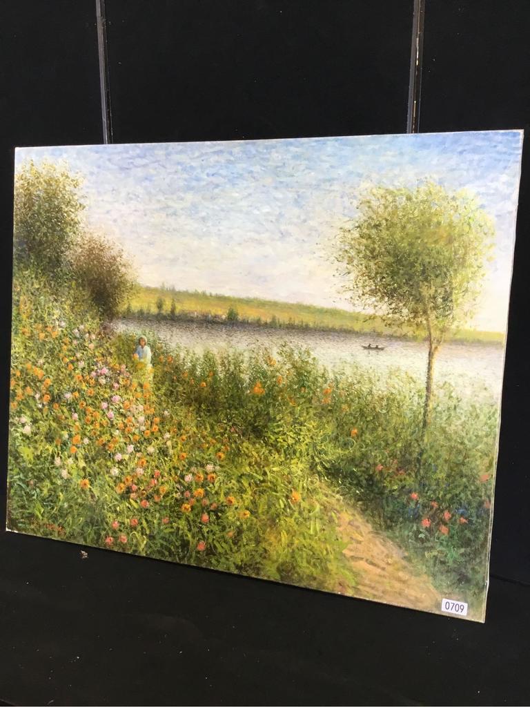 Louz Mondingo (Field by Lake)