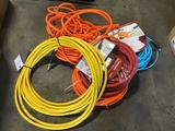Lot of (5) Assorted Size/Length Air Hoses