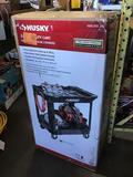 Husky Heavy Duty 2-Shelf Utility Cart