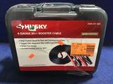 Husky 4 Gauge 20ft. Booster Cable