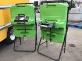 (2) Fend-All Pure Flow 1000 Emergency Eyewash Stations