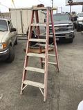 Sunset Ladder Co. 6ft. Fiberglass A-Frame Ladder
