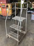 Ballymore 4ft. 3-Step Metal Saftey Ladder