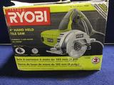 Ryobi 4in. Hand Held Tile Saw