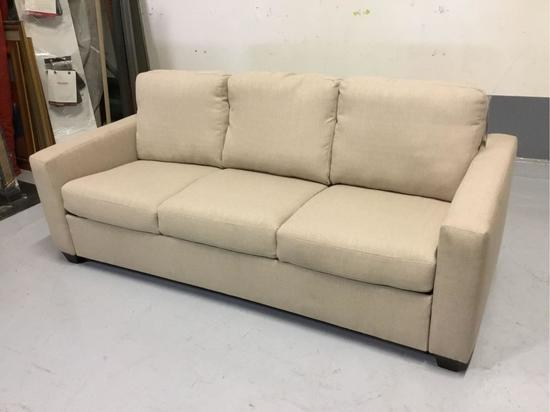 Palliser Furniture Cloud Z Kildonan Tan Fabric Queen Sofa Sleeper
