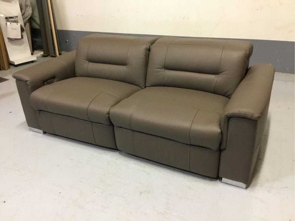 Palliser Keoni 2-Piece Brown Leather Power Reclining Sofa