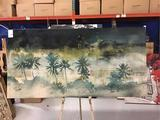 Palm tree Mirage P-TX by Donna Decorative Print Picture