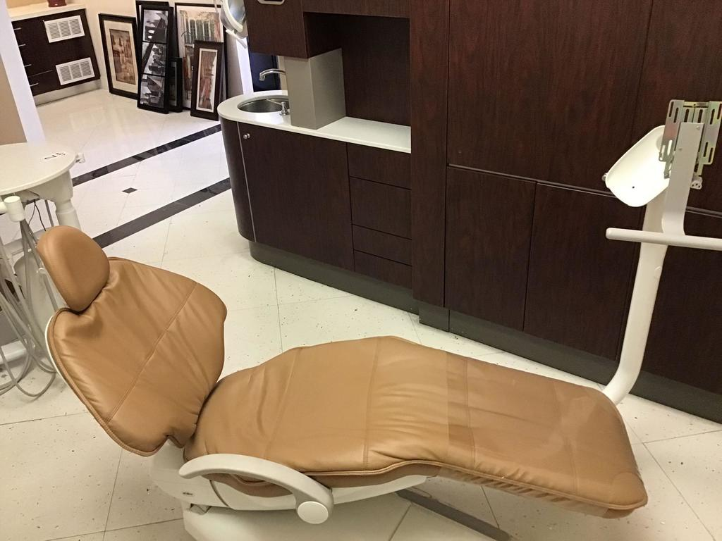 ADEC Dental Exam Chair and Delivery Unit