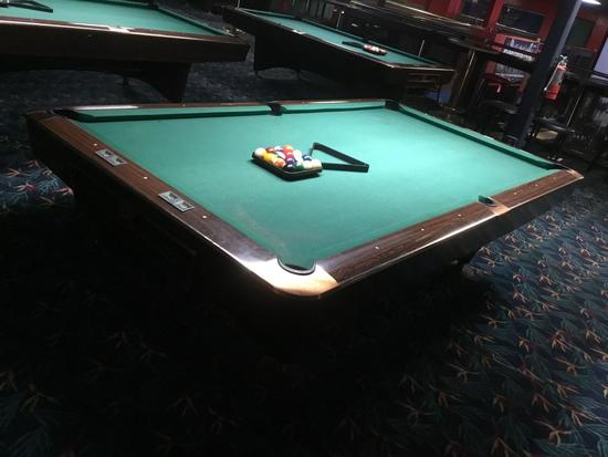 Brunswick Gold Crown Billiards Table