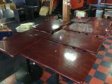 Lot of (7) Assorted Size Bar Tables