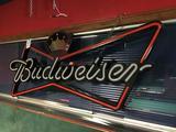 Budweiser Faux-Neon Light-Up Sign