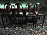 (4) Bar Stools w/Backs