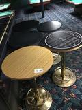 (5) Round Bar Tables