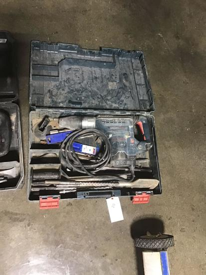 BOSCH Electric Demolition Hammer with Bits