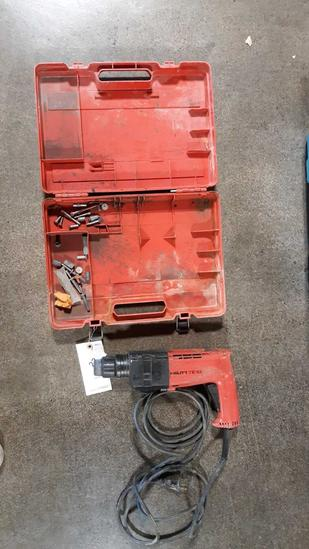 HILTI Electric Demolition Hammer with Bits