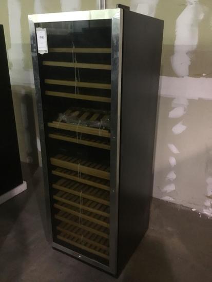 Vinotemp 155-Bottle Dual Zone Stainless Steel Wine Cooler